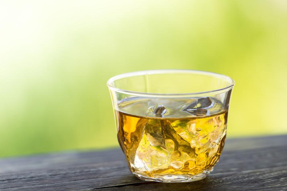 thé glacé, rhum jamaïcain, thé, thés