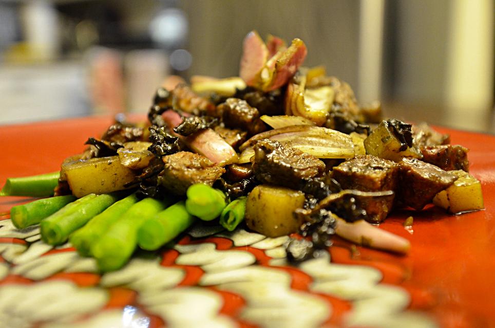 recette, mijoté, porc, Oolong, Oolong Quangzhou au lait, thé