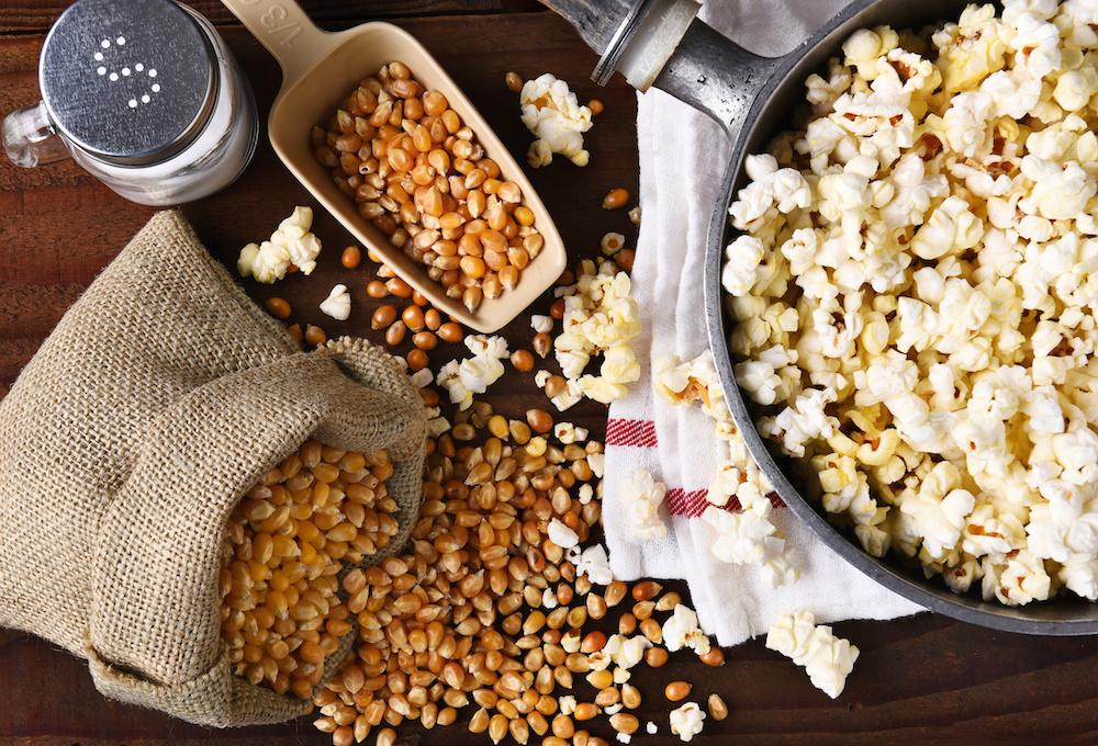 Journée internationale popcorn, maïs soufflé