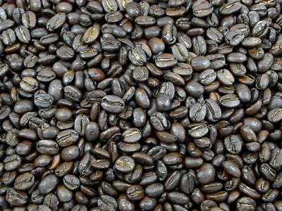 Café, café colombien brun,