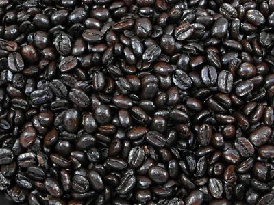 Café, café colombien noir