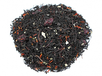 tea, black tea, cranberry