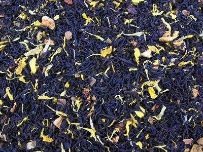 thé noir, thé, citrouille