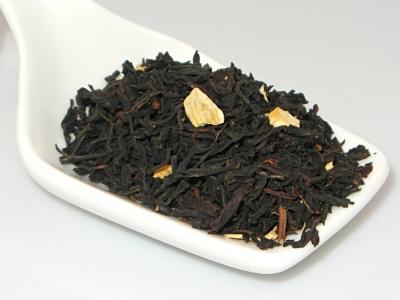 thé, thé noir, gingembre