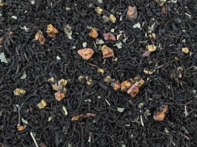 thé, thé noir, pomme verte