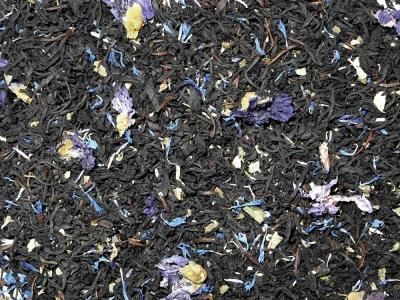 thé, thé noir, mûre