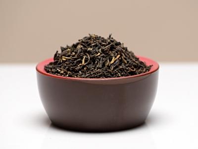 Thé noir, thé, thé noir yunnan de chine