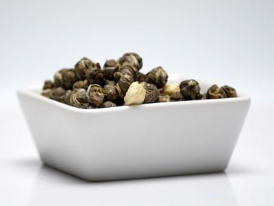 tea, green tea, dragon pearls, jasmin, infusion