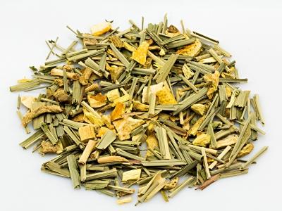 herbal tea, lemon ginger