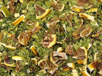 Yaupon, vert, citron, thé