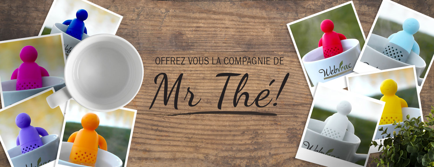 Mr Tea, infusueur, thé
